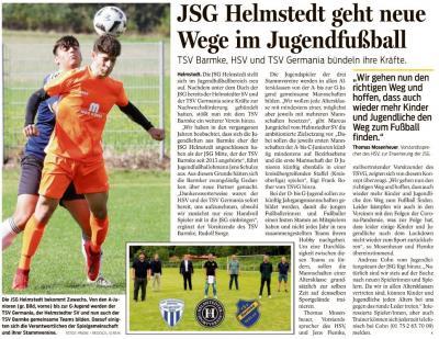 Vorschaubild zur Meldung: TSV Barmke/JSG Helmstedt