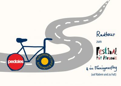 Bild der Meldung: Fahrradtour zum Festival Für Freunde
