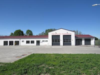 Feuerwehrgerätehauses im Ortsteil Seeburg