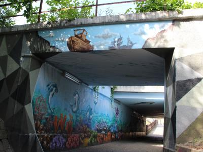 "Bahnunterführung Fritz-Weber-Str./E.-Thälmann-Str., genannt: ""Der Tunnelberg"""