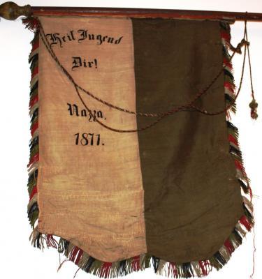 Die alte Fahne von1871