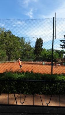 Foto zur Meldung: Große Freude: Tennisclub bekommt neue Tennisplätze für knapp 400.000€!