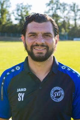 Der neue starke Mann an der Seitenlinie: SV-Coach Sedat Yilmaz.