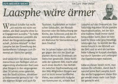 Wir in der Westdeutsche Allgemeine Zeitung