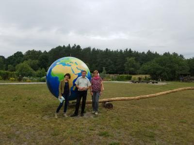 Foto zur Meldung: Besuch im Grenzüberschreitenden Umweltbildungszentrum in Zalesie
