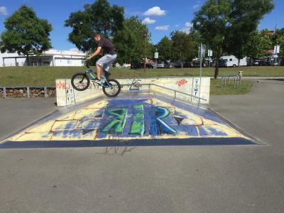 Foto zur Meldung: Ausflug zum SkaterPark Parchim