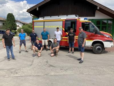 Vorschaubild zur Meldung: Feuerwehren Moosbach und Ruhmannsdorf in Oberbayern unterwegs