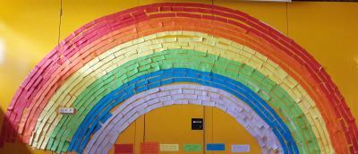 Ein Regenbogen für die Albblickschule