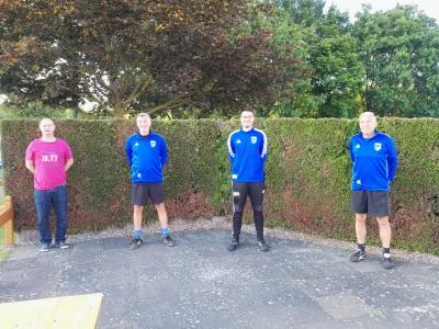 Foto zur Meldung: Moringer Damenmannschaft mit neuem Trainer
