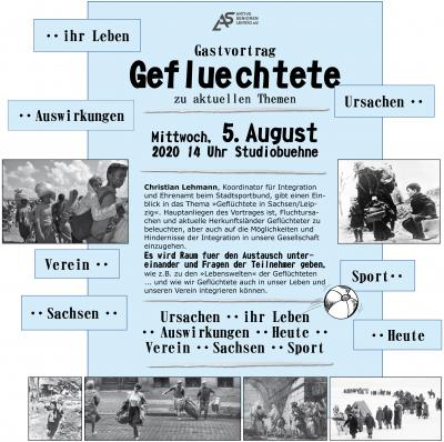 Gastvortrag am 5. August 14 Uhr
