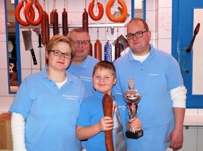 Foto zur Meldung: 115 Jahre Fleischereigeschäft Glasow