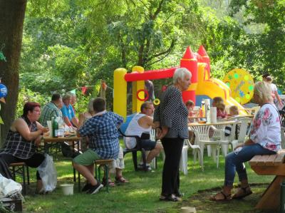 Foto zur Meldung: Sommerfest am Katzenhaus