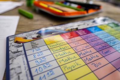 Foto zur Meldung: Stundenplan für das kommende Schuljahr