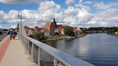 Radwanderung in zwei Tagen von Rathenow über Havelberg zum Storchendorf Rühstädt und weiter nach Wittenberge