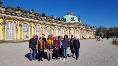 Vorschaubild zur Meldung: Wanderung durch die Potsdamer Park- und Seenlandschaft
