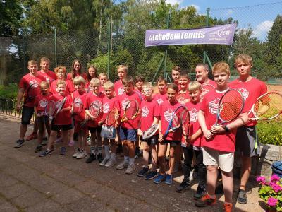 Foto zur Meldung: Tenniscamp 2020 - Was für ein Erfolg!