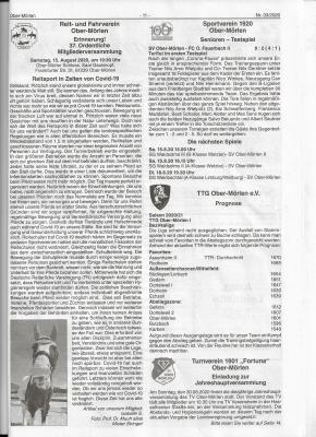 """Artikel """"Reitsport in Zeiten von Covid-19"""""""