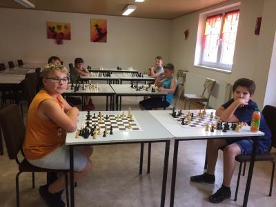 Foto zur Meldung: Schach - Training unter Corona-Bedingungen