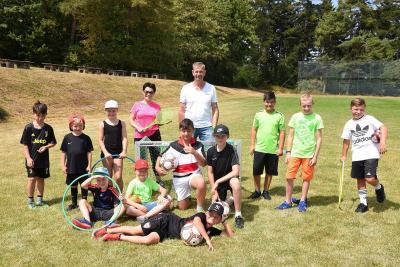 Vorschaubild zur Meldung: Kindersommerferienprogramm der Sportfreunde Salzstetten