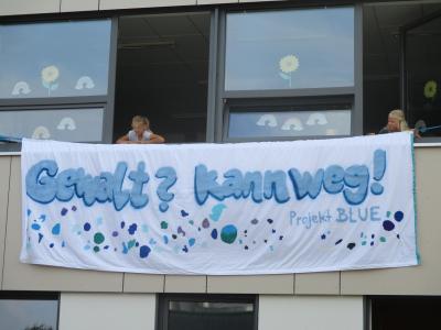 Vorschaubild zur Meldung: Auftakt für BLUE - Anti-Gewalt-Wochen