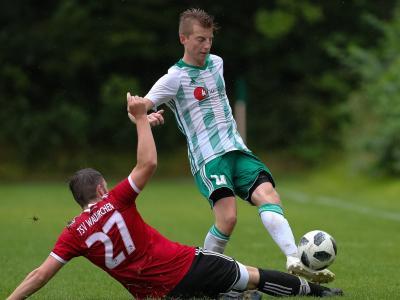 Bild der Meldung: zwei mal Pfosten verhinderte Unentschieden gegen Waldkirchen