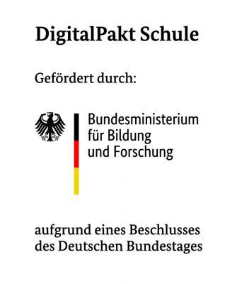 """Zuwendung gemäß der """"Förderrichtlinie Sofortausstattungsprogramm Digitalpakt Schule""""  erhalten"""