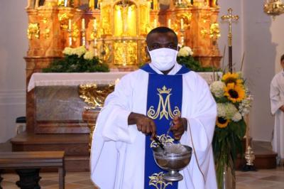Foto zur Meldung: Die Pfarreiengemeinschaft feierte das Hochfest Mariä Himmelfahrt