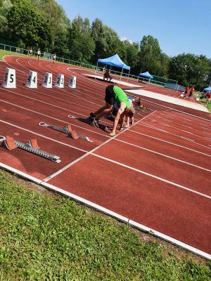 Foto zur Meldung: Niederbayerische Meisterschaften in Plattling vom 08./09.08.2020