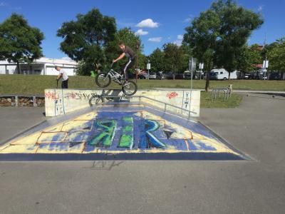 Foto zur Meldung: BMX-fahren wieder stark im Kommen