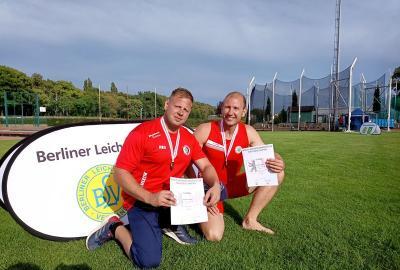 Zwei Bronzemedaillen für die Leichtathleten