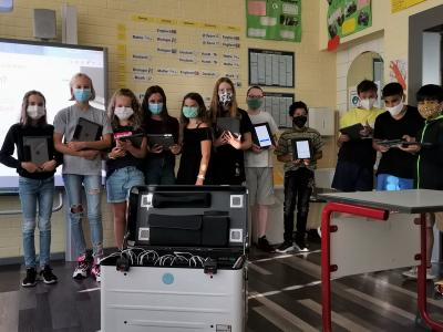 Vorschaubild zur Meldung: Neue iPads an der Gesamtschule Much