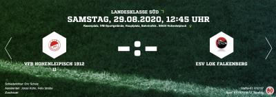 Foto zur Meldung: Fußball:  +++Auswärtsspiele in Hohenleipisch für Männerteams+++
