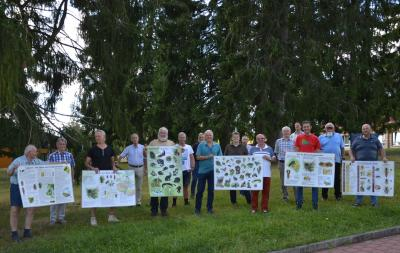 Vorschaubild zur Meldung: Förderverein Naturpark Spessart gratuliert Schullandheim Wegscheide zum 100-jährigen Bestehen