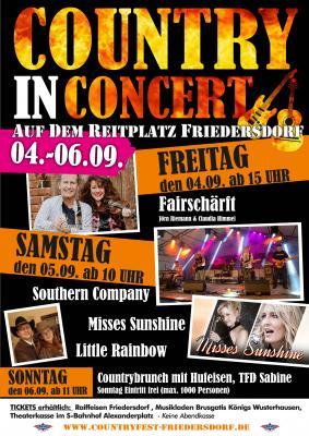 Die Konzerte finden statt!
