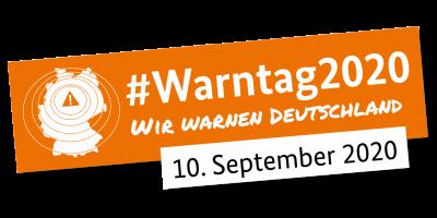 Vorschaubild zur Meldung: Informationen zum Warntag am 10. September 2020