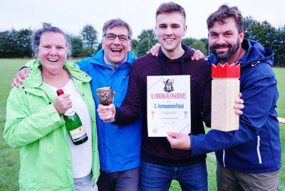 Foto zur Meldung: Wikingerschach beim SV Schmalensee: Und wieder gewinnt Irgendeine Mannschaft