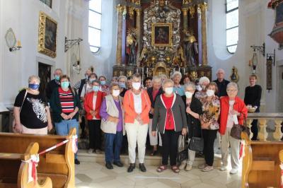 Vorschaubild zur Meldung: Die Senioren waren in der Deggendorfer Gegend unterwegs
