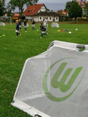 Foto zur Meldung: VfL Wolfsburg-Camp in Bleicherode