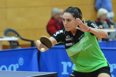 Zum Saisonauftakt der Tischtennis Damen Bundesliga wieder mit dabei - die Nummer eins des TTKG - Dijana Holokova