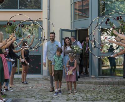 Vorschaubild zur Meldung: Hochzeit Julia und Daniel Ritt