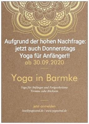 Foto zur Meldung: Jetzt Yoga beim TSV Barmke