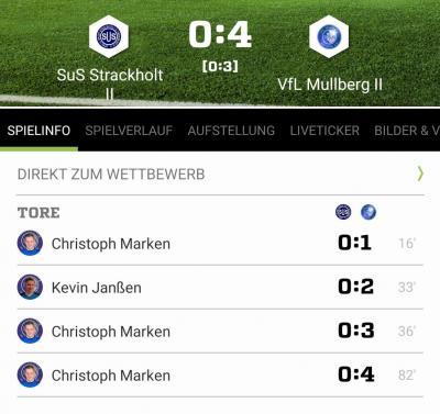 Vorschaubild zur Meldung: 2. Herren: Pokalerfolg in Strackholt! 🏆