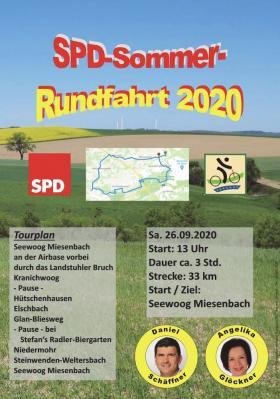 Bild der Meldung: SPD Sommer Rundfahrt 2020