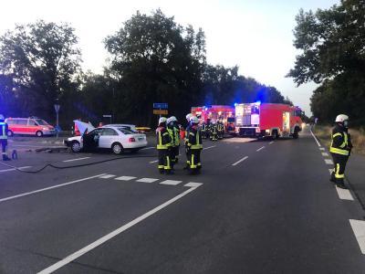 Vorschaubild zur Meldung: Einsatz Nr. 27 - Schwerer Verkehrsunfall in Stellau