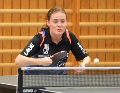 Burgwedels Nummer drei - Emilija Riliskyte - war am Wochenende mit zwei Siegen die stärkste Spielerin