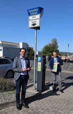 Vorschaubild zur Meldung: NEU in Flieden: Parkgebühren am Bahnhof auch digital mit dem Smartphone bezahlen