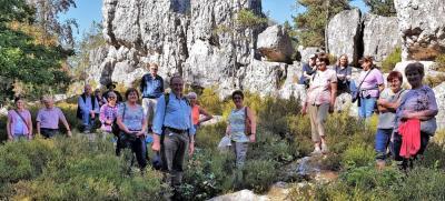 Foto zur Meldung: Herbstwanderung der Moosbacher Gartler entlang des Großen Pfahl