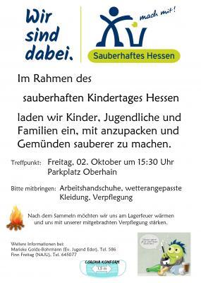 Plakat Umwelttag
