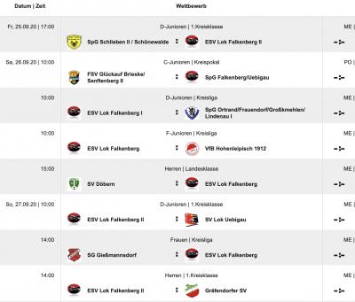 alle Spiele im Überblick (fussball.de)