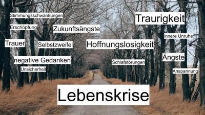 Vorschaubild zur Meldung: Lebenskrisen – Wendepunkte  Vortrag